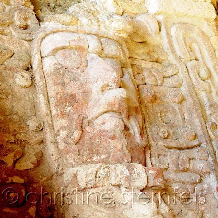 Mayan Ruins1  - Copyright Christine Sternfels