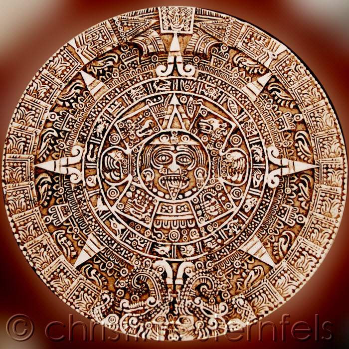 Mayan Ruins - Copyright Christine Sternfels